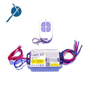 کیت چراغ ماشین کنترلی ریموت دار 315Mhz