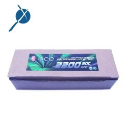 باتری لیتیوم پلیمری 7.4 ولت 2200 میلی آمپر