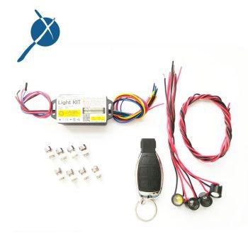 کیت چراغ ماشین کنترلی ریموت دار 433Mhz